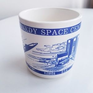 Vintage Kennedy Space Center Florida coffee mug